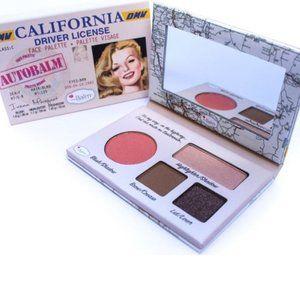 theBalm Autobalm Face Palete, California